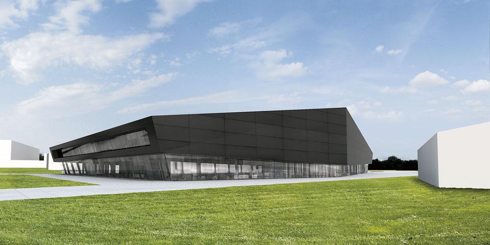 gymnastics center jan baros architect graphic designer. Black Bedroom Furniture Sets. Home Design Ideas
