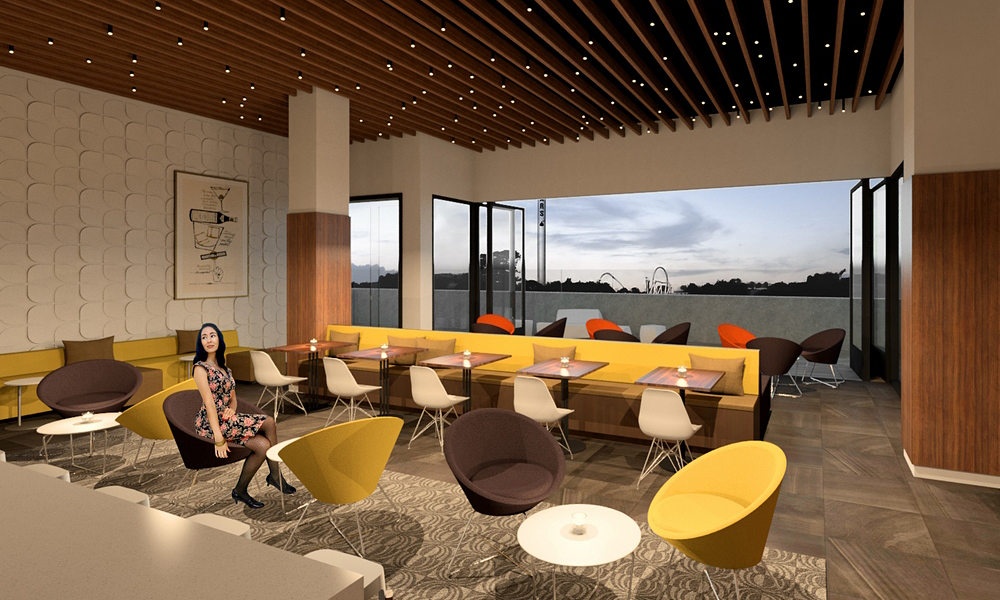 Boutique hotel hershey jan baros architect graphic for Boutique hotel 2016